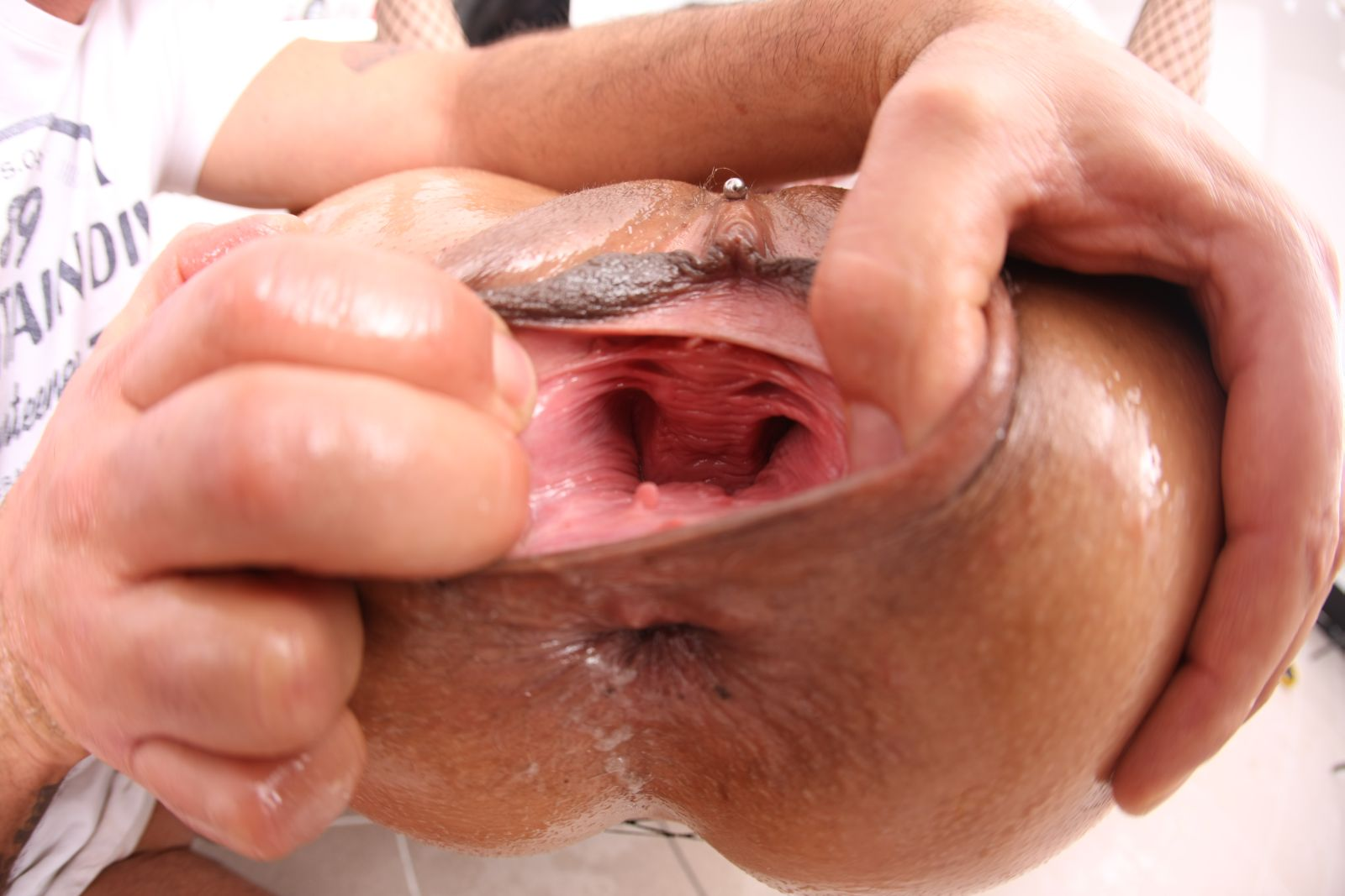 Vaginal creampie fist